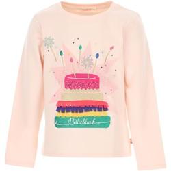 Vêtements Fille T-shirts manches longues Billieblush / Billybandit U15796 T-shirt Enfant ROSE CLAIR ROSE CLAIR