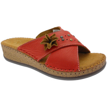 Chaussures Femme Mules De Fonseca DEFONEULALIAros rosso