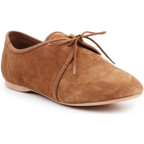 Chaussures Femme Derbies Lacoste 25LEW2008-B23 brązowy