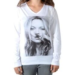 Vêtements Enfant T-shirts & Polos Eleven Paris Kate LS Kate Moss Mixte (Garçon / Fille) M99 Blanc