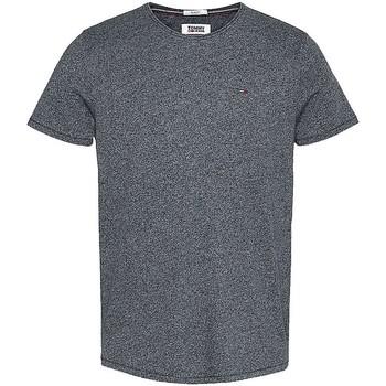Vêtements Homme T-shirts manches courtes Tommy Jeans Tee-shirt  ref_50089 Noir noir