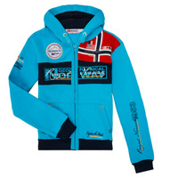 Vêtements Garçon Sweats Geographical Norway FLYER BOY Turquoise