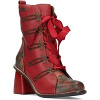 Chaussures Femme Bottines Laura Vita EVCAO01Rouge Rouge