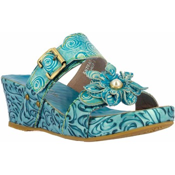 Chaussures Femme Mules Laura Vita FACDIAO21Turquoise Turquoise