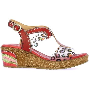 Chaussures Femme Sandales et Nu-pieds Laura Vita HACKEO 06 Rouge Rouge