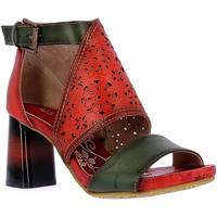 Chaussures Femme Sandales et Nu-pieds Laura Vita HACSIO03Rouge Rouge