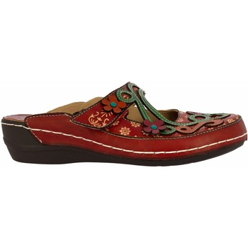 Chaussures Femme Sabots Laura Vita HECTO 08 Rouge Rouge
