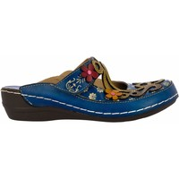 Chaussures Femme Sabots Laura Vita HECTO08Turquoise Turquoise