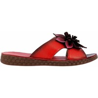 Chaussures Femme Mules Laura Vita HECZO06Rouge Rouge