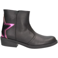 Chaussures Fille Boots Dianetti Made In Italy I9889 Noir / Fuchsia