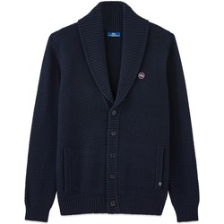 Vêtements Homme Gilets / Cardigans TBS YONIEGIL Bleu