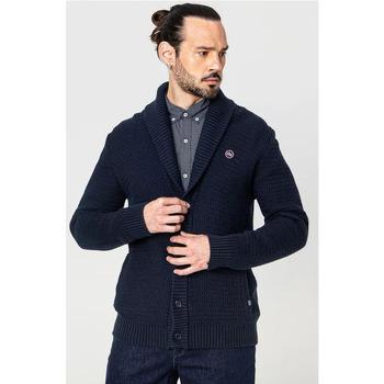 Vêtements Homme Gilets / Cardigans TBS YONIEGIL Bleu marine