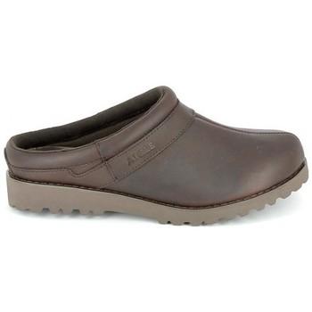Chaussures Sabots Aigle Basilo Marron Marron