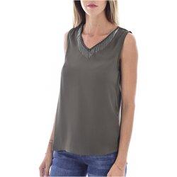 Vêtements Femme Tops / Blouses Molly Bracken G663A19 Vert