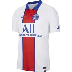 Vêtements Homme Polos manches courtes Nike Maillot Psg Exterieur 2020-21 blanc
