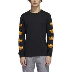 Vêtements Homme T-shirts manches longues adidas Originals Ls g shmoo tee Noir