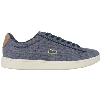 Chaussures Femme Baskets basses Lacoste Carnaby Evo Bleu