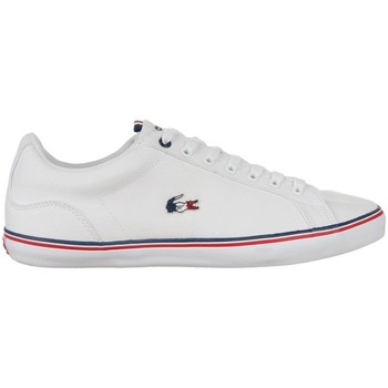 Chaussures Homme Baskets basses Lacoste Lerond Blanc, Rouge