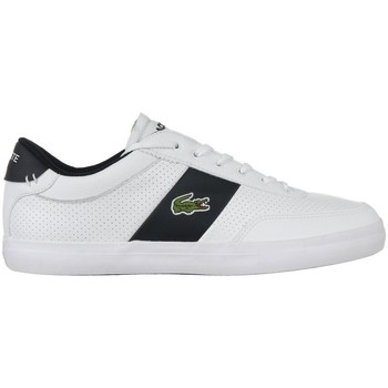 Chaussures Homme Baskets basses Lacoste Courtmaster Blanc, Noir