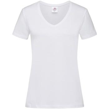 Vêtements Femme T-shirts manches courtes Stedman  Blanc