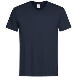 Vêtements Homme T-shirts manches courtes Stedman  Bleu nuit