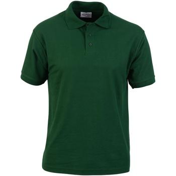 Vêtements Homme Polos manches courtes Absolute Apparel  Vert bouteille