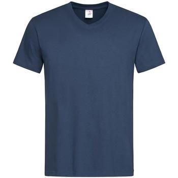 Vêtements Homme T-shirts manches courtes Stedman  Bleu marine