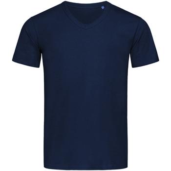 Vêtements Homme T-shirts manches courtes Stedman Stars  Bleu marine