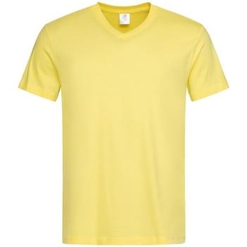 Vêtements Homme T-shirts manches courtes Stedman  Jaune