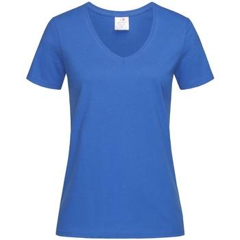Vêtements Femme T-shirts manches courtes Stedman  Bleu roi
