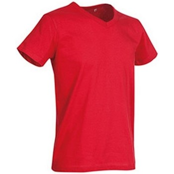 Vêtements Homme T-shirts manches courtes Stedman Stars  Rouge