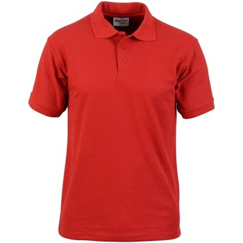 Vêtements Homme Polos manches courtes Absolute Apparel  Rouge