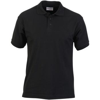 Vêtements Homme Polos manches courtes Absolute Apparel  Noir