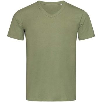 Vêtements Homme T-shirts manches courtes Stedman Stars  Vert kaki