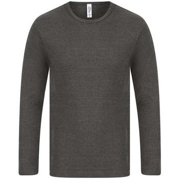 Vêtements Homme T-shirts manches longues Absolute Apparel  Gris foncé