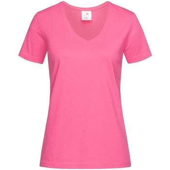 Vêtements Femme T-shirts manches courtes Stedman  Rose