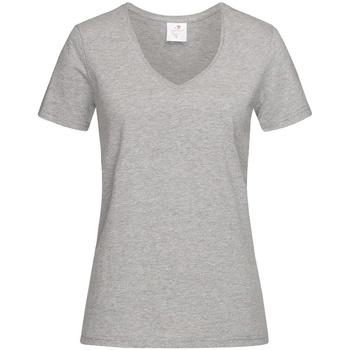 Vêtements Femme T-shirts manches courtes Stedman  Gris chiné
