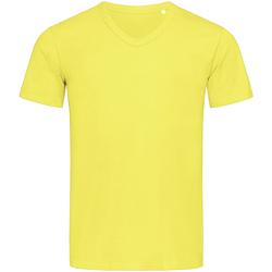 Vêtements Homme T-shirts manches courtes Stedman Stars  Jaune