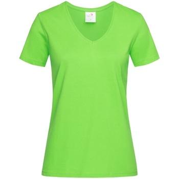 Vêtements Femme T-shirts manches courtes Stedman  Vert clair
