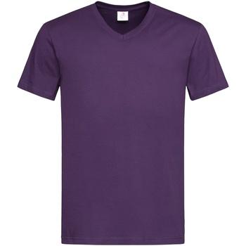 Vêtements Homme T-shirts manches courtes Stedman  Violet foncé