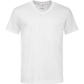 Vêtements Homme T-shirts manches courtes Stedman  Blanc