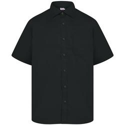 Vêtements Homme Chemises manches courtes Absolute Apparel  Noir