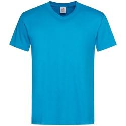 Vêtements Homme T-shirts manches courtes Stedman  Bleu clair