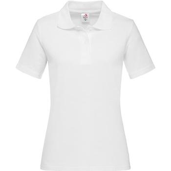 Vêtements Homme Polos manches longues Stedman  Blanc