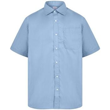 Vêtements Homme Chemises manches courtes Absolute Apparel  Bleu clair