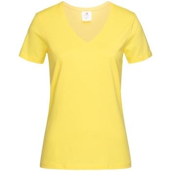 Vêtements Femme T-shirts manches courtes Stedman  Jaune