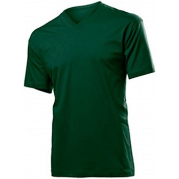 Vêtements Homme T-shirts manches courtes Stedman  Vert bouteille
