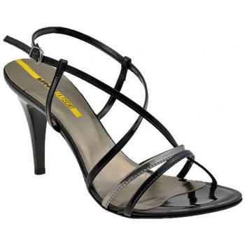 Chaussures Femme Sandales et Nu-pieds Lea Foscati BraceletCroixT.70Sandales Noir