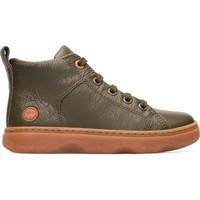 Chaussures Garçon Boots Camper Bottines cuir KIDO vert
