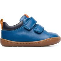 Chaussures Garçon Baskets basses Camper Baskets à lacets élastiques cuir PEU CAMI bleu